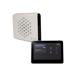 POLY G10-T VIDEO CONFERENCE/COLLABORATION SYSTEM: MS TEAMS CODEC- GC-8 TOUCH CONTROLLER- L