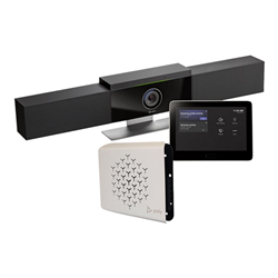 POLY G40-T VIDEO CONF/COLLAB SYSTEM: MS TEAMS CODEC- GC-8 TOUCH- LENOVO TINY