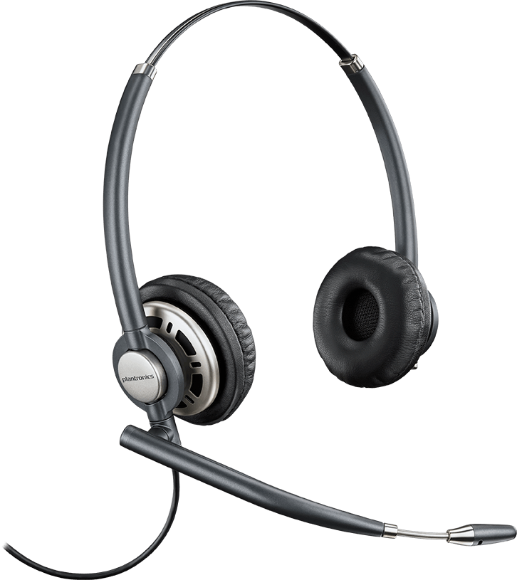PLANTRONICS ENCOREPRO HW720 OVER THE HEAD STEREO NC QD CORDED H-TOP - PROMO ENDS 26 JUN 21