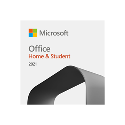 MICROSOFT OFFICE HOME & STUDENT 2021 - (ESD) ELECTRONIC LICENSE