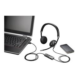 PLANTRONICS BLACKWIRE C720-M UC STEREO USB-A & BLUETOOTH - PROMO ENDS 26 JUN 21