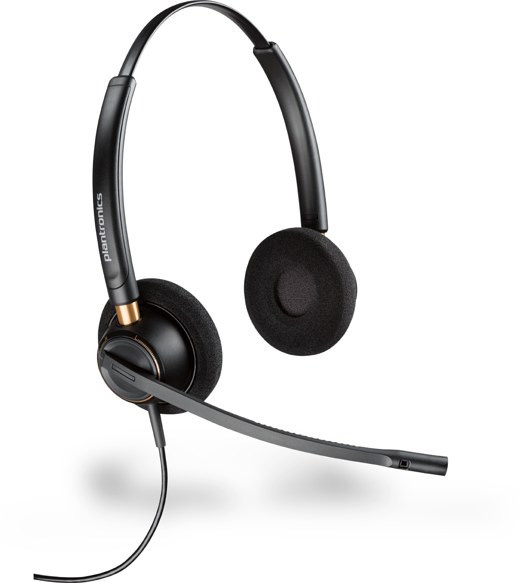 PLANTRONICS ENCOREPRO HW520 OTH STEREO NC QD CORDED HEADSET TOP