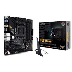 ASUS-TUF-GAMING-B550M-PLUS-(WI-FI)-AMD-B550-AM4-M-ATX-4XDDR4-4600-PCI-E4.0-SATA3-M.2-RAID-HDMI-DISPLAY-PORTS