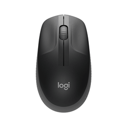 LOGITECH M190 WIRELESS MOUSE PLUG AND PLAY- 2.4GHZ NANO RECEIVER - CHARCOAL - 1YR WTY