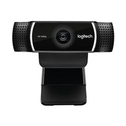 LOGITECH C922 WEBCAM- 1080P FULL HD- 2 X BUILT IN MIC (STEREO)- USB CONNECT- 2YR WTY