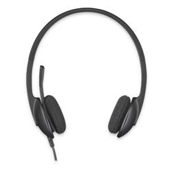 LOGITECH USB HEADSET H340 - BLACK - AP