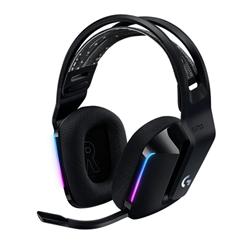 LOGITECH G733 LIGHTSPEED WIRELESS RGB GAMING HEADSET- PRO G 40MM AUDIO DRIVER- BLK-2YR WTY