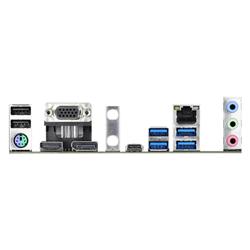 INTEL B460; 4 DDR4 DIMM; 2 PCIE 3.0 X16- 1 PCIE 3.0 X1- 1 M.2 WIFI KEY E; 6 SATA3- 2 ULTRA M.2 (PCIE GEN3 X4 & SATA3); 7 USB 3.2 GEN1; HDMI- D-SUB- DP
