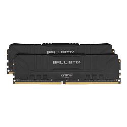 BALLISTIX 32GB (16GBX2 KIT) DDR4 MEMORY- 3200MHZ- CL16- LIFE WTY- (BLACK)