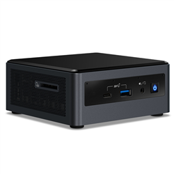 INTEL NUC MINI PC KIT- I7-10710U- DDR4(0/2)- M.2(0/1)- 2.5