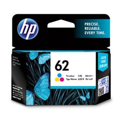 HP 62 TRI-COLOUR INK CARTRIDGES