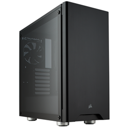 CORSAIR CARBIDE SERIES 275R TEMPERED GLASS MID-TOWER GAMING CASE- BLACK