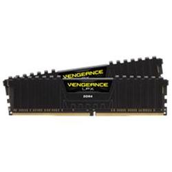 CORSAIR VENGEANCE LPX 16GB (2X8GB) DDR4 DRAM DIMM 2400MHZ UNBUFFERED 16-16-16-39 BLACK HEAT SPREADER 1.20V XMP 2.0