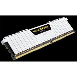 CORSAIR VENGEANCE LPX 16GB (2X8GB) DDR4 DRAM DIMM 3000MHZ 15-17-17-35 WHITE HEAT SPREADER 1.35V XMP 2.0