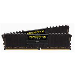 CORSAIR VENGEANCE LPX DDR4- 3000MHZ 16GB 2 X 288 DIMM- UNBUFFERED- 16-20-20-38- BLACK HEAT SPREADER- 1.35V- XMP 2.0- SUPPORTS 6TH INTEL CORE I5/I7