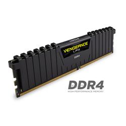 CORSAIR VENGEANCE LPX 32GB (2X16GB) DDR4 DRAM DIMM 2666MHZ UNBUFFERED 16-18-18-35 BLACK HEAT SPREADER 1.2V XMP 2.0