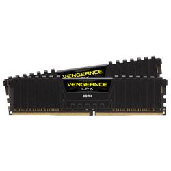 CORSAIR VENGEANCE LPX 32GB (2X16GB) DDR4 DRAM DIMM 3200MHZ UNBUFFERED 16-18-18-36 BLACK HEAT SPREADER 1.35V XMP 2.0