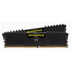 CORSAIR VENGEANCE LPX DDR4- 3000MHZ 32GB 2 X 288 DIMM- UNBUFFERED- 16-20-20-38- BLACK HEAT SPREADER- 1.35V- XMP 2.0