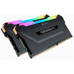 CORSAIR VENGEANCE RGB PRO  DDR4- 3200MHZ 16GB 2X 288 DIMM- UNBUFFERED- 16-18-18-36- BLACK HEAT SPREADER-1.35V- XMP 2.0-FOR AMD RYZEN