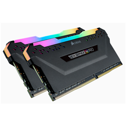 CORSAIR VENGEANCE RGB PRO DDR4- 3600MHZ 32GB 2 X 288 DIMM- UNBUFFERED- 18-22-22-42- HEAT SPREADER- RGB LED- 1.35V- XMP 2.0