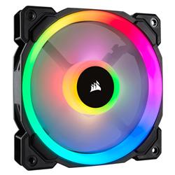 CORSAIR LL SERIES- LL120 RGB- 120MM DUAL LIGHT LOOP RGB LED PWM FAN- SINGLE PACK