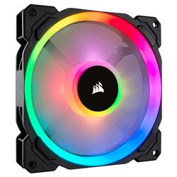 CORSAIR LL SERIES- LL140 RGB- 140MM DUAL LIGHT LOOP RGB LED PWM FAN- SINGLE PACK