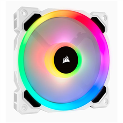 LL120 RGB WHITE SINGLE FAN
