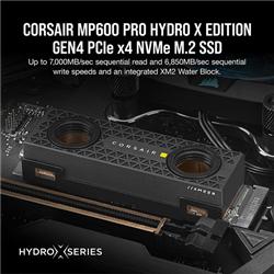 CORSAIR MP600 PRO 2TB NVME PCIE M.2 SSD HYDRO X EDITION