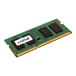 CRUCIAL 8GB DDR3L NOTEBOOK MEMORY- PC3-12800- 1600MHZ- LIFE WTY