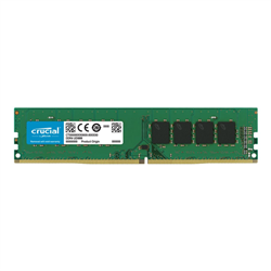 CRUCIAL 16GB DDR4 DESKTOP MEMORY- PC4-21300- 2666MHZ- UNRANKED- LIFE WTY