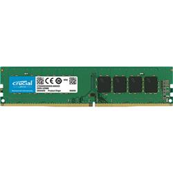 CRUCIAL 8GB DDR4 DESKTOP MEMORY- PC4-19200- 2400MHZ- SRX8 LIFE WTY