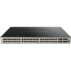 D-LINK-52-PORT-GIGABIT-XSTACK-LAYER-3-MANAGED-STACKABLE-SWITCH-WITH-48-1000BASE-T-AND-4-10-GBE-SFP-PORTS