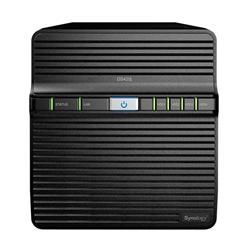 SYNOLOGY DS420J- 4 BAY NAS (NO DISK)- RTD1296 QUAD CORE- 1GB- GBE(1)- USB(2)- TWR- 2YR
