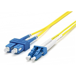 BLUPEAK 1M FIBRE PATCH CABLE SINGLEMODE LC TO SC OS2 (LIFETIME WARRANTY)