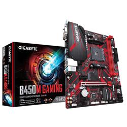 GIGABYTE B450M GAMING MB- AM4- 2XDDR4- 4XSATA-1XM.2- USB3.1-MICROATX- 3YR