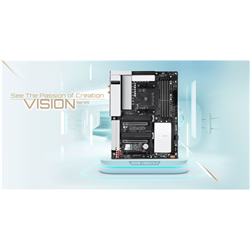 GIGBAYTE B550 VISION D PM B- 4XDDR4- 4XSATA- 2XM.2- USB-C- WIFI-AX- ATX- 3YR