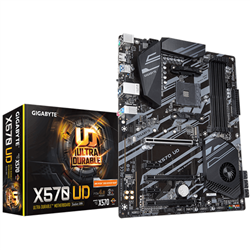 GIGABYTE X570 UD MB- AM4- 4XD DR4- 6XSATA- 1XM.2- USB3.1- ATX- 3YR