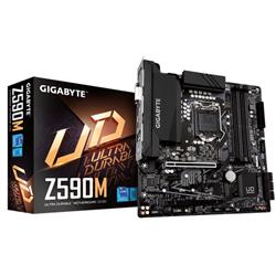 GIGABYTE Z590M MB- 1200- 4XDDR4- 6XSATA- 1XM.2- USB3.2 GEN2- WIFI- MICRO ATX- 3YR