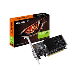 GIGABYTE GF GT 1030 PCIE X16- 2GB GDDR4- DVI- HDMI- LOW PROFILE- 3YR