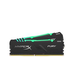 16GB 3200MHZ DDR4 CL16 DIMM (KIT OF 2) 1RX8 HYPERX FURY RGB