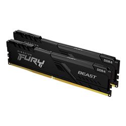 32GB 2666MHZ DDR4 CL16 DIMM (KIT OF 2) 1GX8 FURY BEAST BLACK