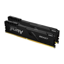 16GB 3200MHZ DDR4 CL16 DIMM (KIT OF 2) FURY BEAST BLACK