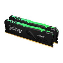 16GB 3600MHZ DDR4 CL17 DIMM (KIT OF 2) FURY BEAST RGB