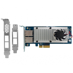 QNAP DUAL PORT 10GBASE-T NETWORK EXPANSION CARD FOR TOWER AND RACKMOUNT
