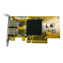 QNAP LAN-1G2T-D- DUAL PORT 1GBE NIC EXPANSION FOR 4BAY - 8B AY TOWER NAS