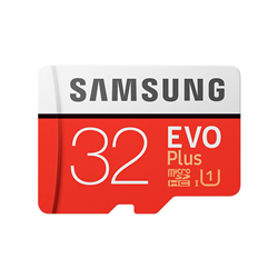 MICRO SDHC 32GB EVO PLUS /W ADAPTER UHS-1 SDR104- CLASS 10- GRADE 1 (U1)- UP TO 95MB/S READ- 20MB/S WRITE- 10 YEARS LIMITED WARRANTY