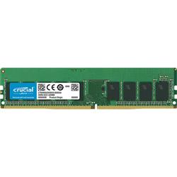 MICRON 16GB DDR4 ECC UDIMM MEMORY- PC4-21300- 2666MHZ- DRX8- 3YR WTY
