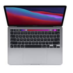 CTO 13-INCH MACBOOK PRO WITH TOUCH BAR/SPACE GREY/APPLE M1 CHIP WITH 8-CORE CPU AND 8-CORE GPU/16GB/256GB SSD STORAGE/M1 CHIP/BACKLIT KB/