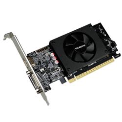 NVIDIA GEFORCE GT 710 GPU- 1GB GDDR5 64BIT MEMORY INTERFACE-954MHZ- DUAL-LINK DVI-I / HDMI