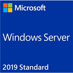 MICROSOFT RETAIL WINDOWS SERVER 2019 STANDARD (16 CORE) + 5 CLT - RETAIL BOX